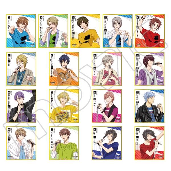 TSUKIPRO THE ANIMATION ミニ色紙コレクション
