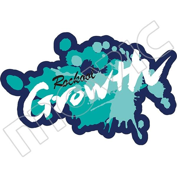ALIVE ワッペン風ステッカー Growth ROCKOOL