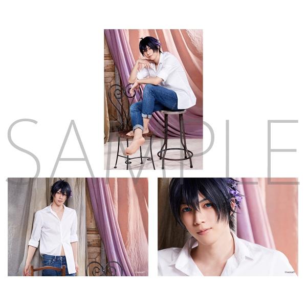 「ALIVESTAGE」Episode 1 【F】ブロマイドセット(3枚セット) 八重樫剣介:藤衣装