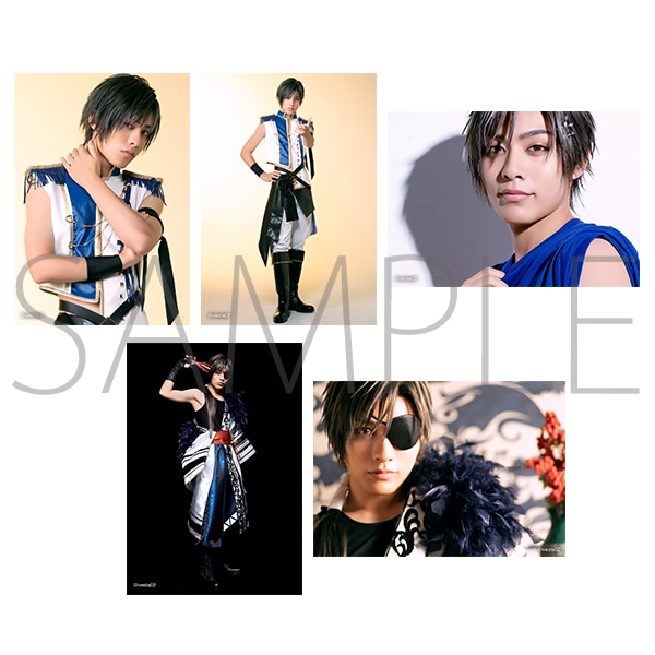「ALIVESTAGE」Episode 2 個人ブロマイドセット(5枚セット) 神楽坂宗司:ステージ衣装&月花神楽