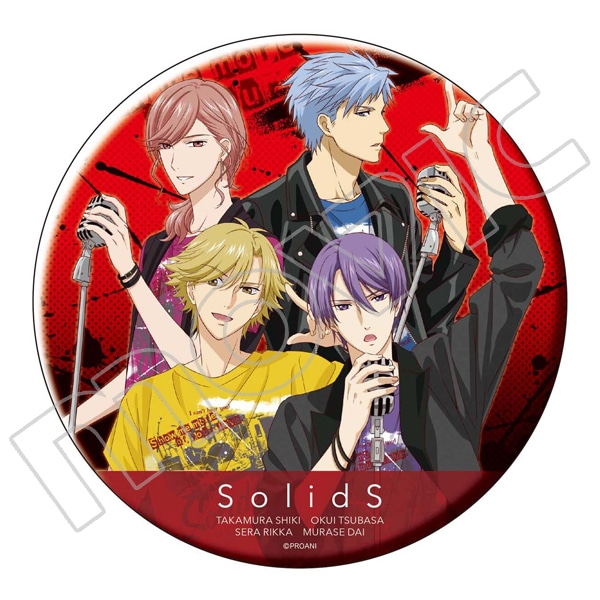 TSUKIPRO THE ANIMATION ビッグ缶バッジ SolidS