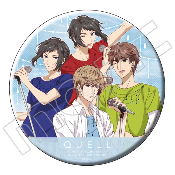 TSUKIPRO THE ANIMATION ビッグ缶バッジ QUELL