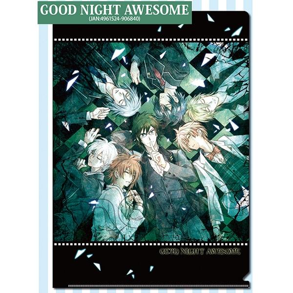 アイドリッシュセブン クリアファイル GOOD NIGHT AWESOME