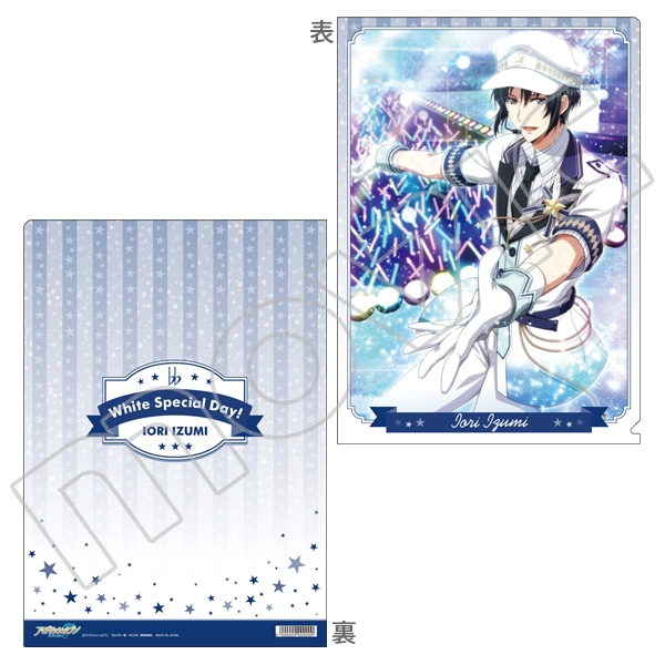 アイドリッシュセブン(原作版) クリアファイル 一織 White Special Day!