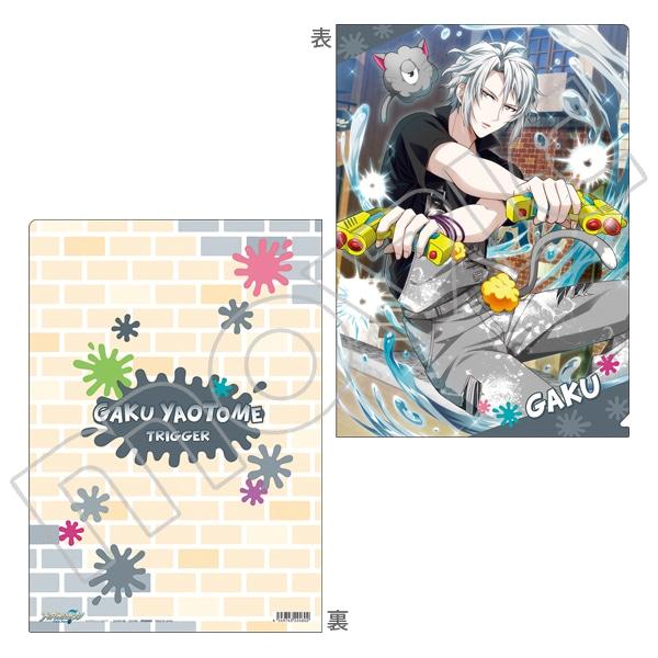 アイドリッシュセブン(原作版) クリアファイル 楽 Monster Parade〜モフモフお掃除大作戦〜