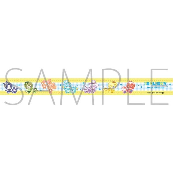 アイドリッシュセブン(原作版) マスキングテープ IDOLiSH7 アイドリッシュセブン×サンリオキャラクターズ