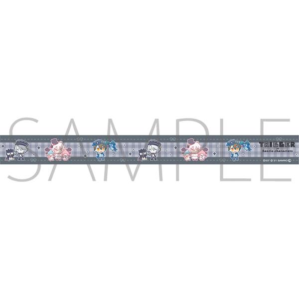 アイドリッシュセブン(原作版) マスキングテープ TRIGGER アイドリッシュセブン×サンリオキャラクターズ