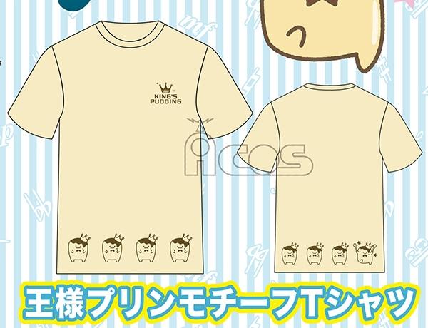 アイドリッシュセブン 王様プリンモチーフTシャツ