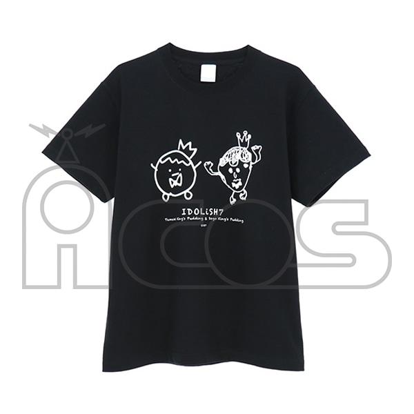 アイドリッシュセブン(原作版) 環と壮五の王様プリンイラストTシャツ