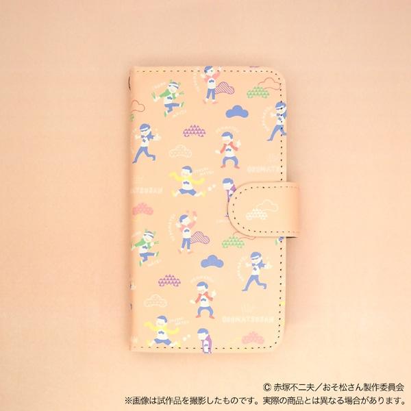 おそ松さん 手帳型スマートフォンケース pastel