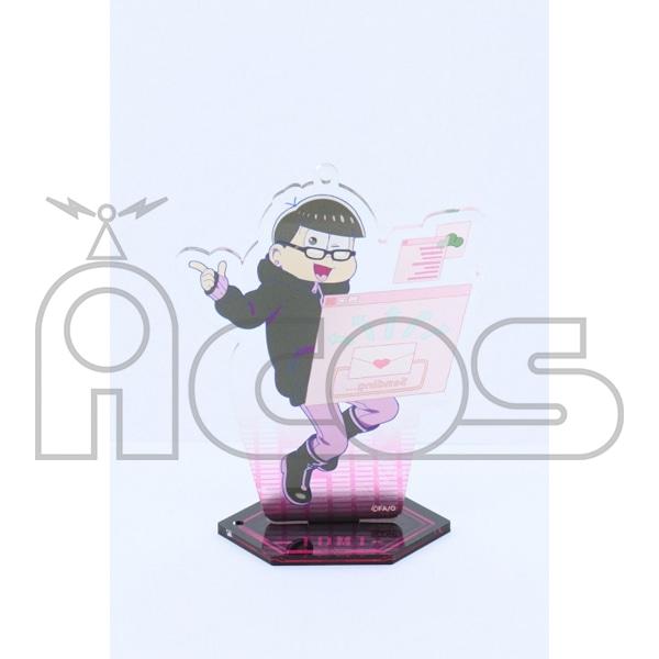 おそ松さん アクリルキーホルダー(台座付き) Hacker Ver.Todomatsu