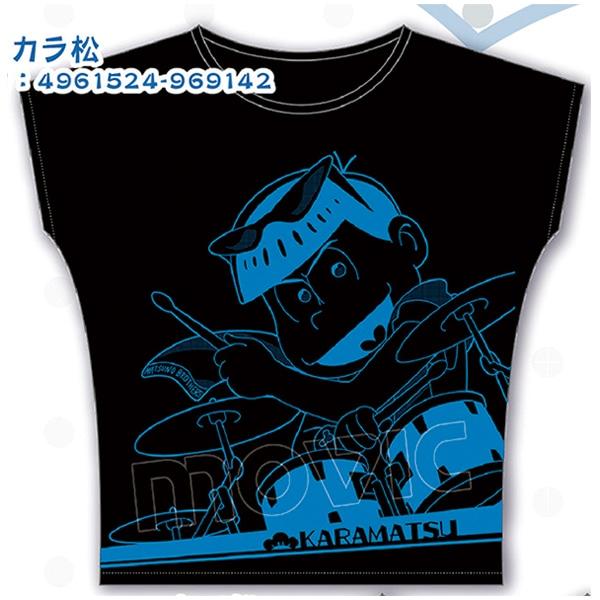 おそ松さん Tシャツ B:カラ松