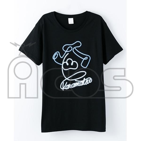 おそ松さん デザインTシャツ カラ松