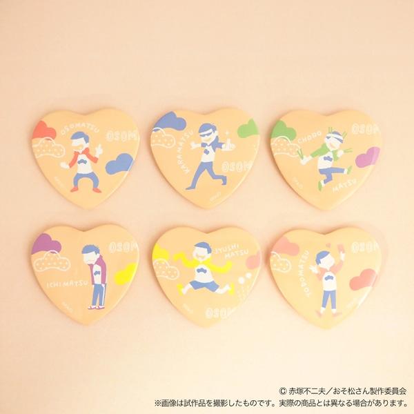 おそ松さん キャラバッジコレクション pastel