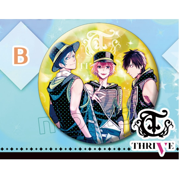 B-PROJECT 缶バッジ THRIVE