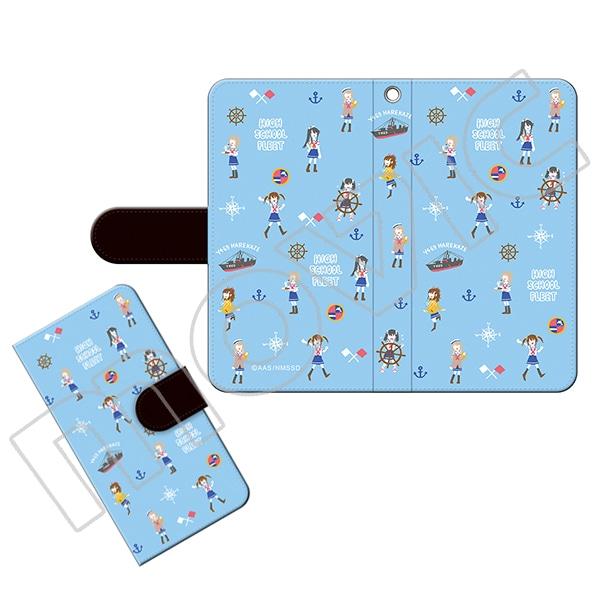 ハイスクール・フリート 手帳型スマートフォンケース ゆるパレット