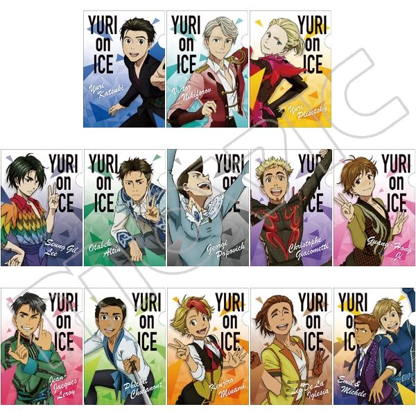ユーリ!!! on ICE ミニクリアファイルコレクション