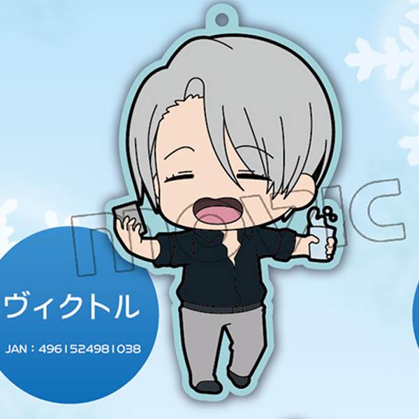ユーリ!!! on ICE ラバーストラップ ヴィクトル