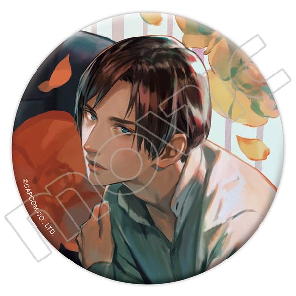 【再販】囚われのパルマ 缶バッジ 3周年記念イラスト ハルト