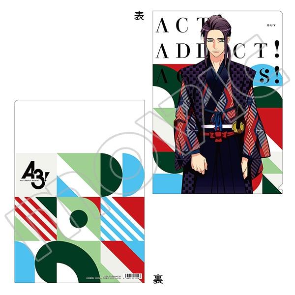 A3! クリアファイル ガイ(第五回公演)