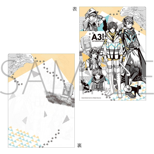 A3! クリアファイル 夏組第二回公演