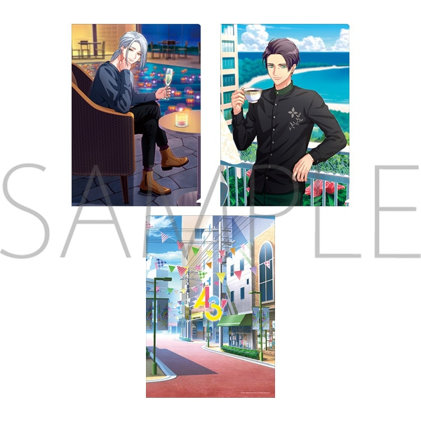 A3! クリアファイルセット 東&ガイ(開花前)