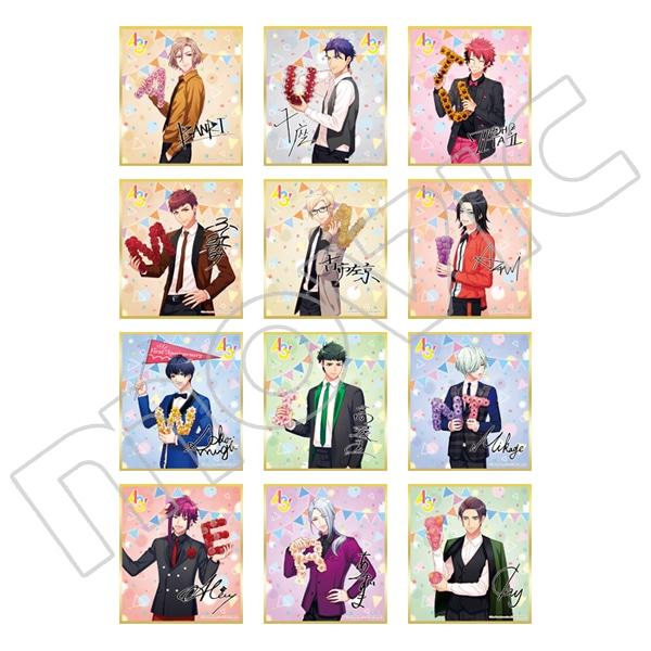 A3! ミニ色紙コレクション vol.7 秋組&冬組
