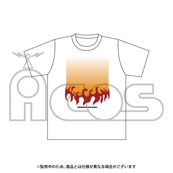 鬼滅の刃 デザインTシャツ 煉獄 杏寿郎