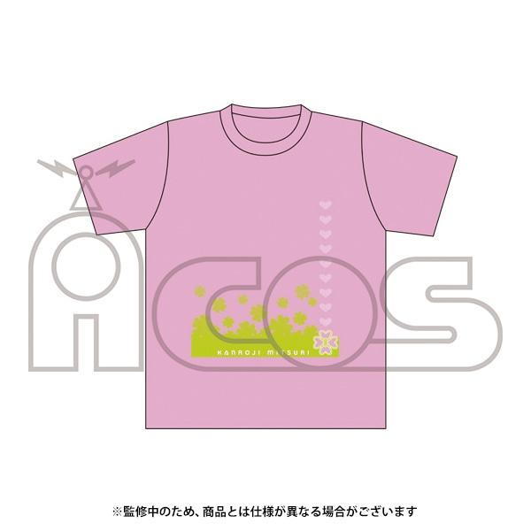 鬼滅の刃 デザインTシャツ 甘露寺 蜜璃