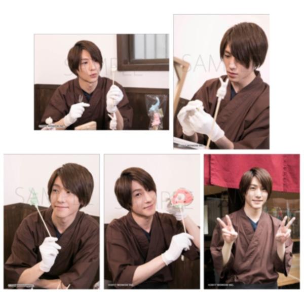 2.5次元男子推しTV ブロマイド5枚セット Vol.5