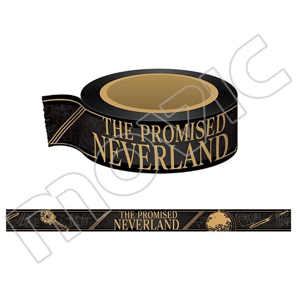 約束のネバーランド マスキングテープ ブラック