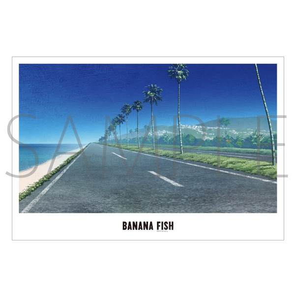 「BANANA FISH」放送記念原画展覧会 美術ポストカード17