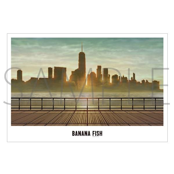 「BANANA FISH」放送記念原画展覧会 美術ポストカード22