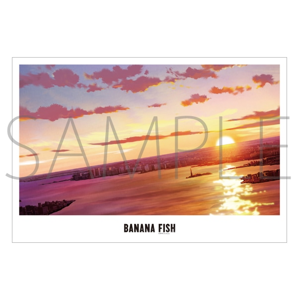 「BANANA FISH」放送記念原画展覧会 美術ポストカード26