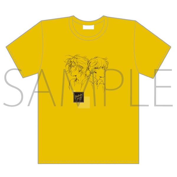 「BANANA FISH」放送記念原画展覧会 Tシャツ:A