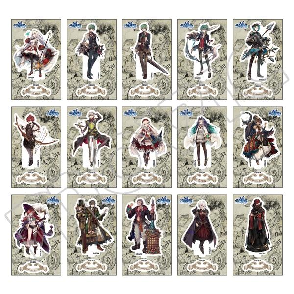 グリムノーツ Repage カードサイズ アクリルスタンドコレクション ストーリーテラー【C97事後通販】