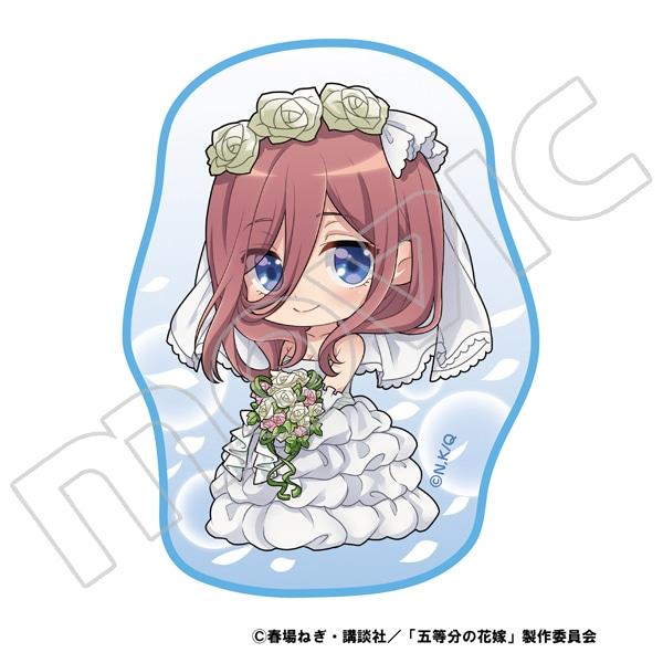 五等分の花嫁 ダイカットミニタオル 三玖