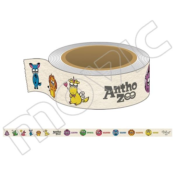 華Doll* マスキングテープ AnthoZoo ver.