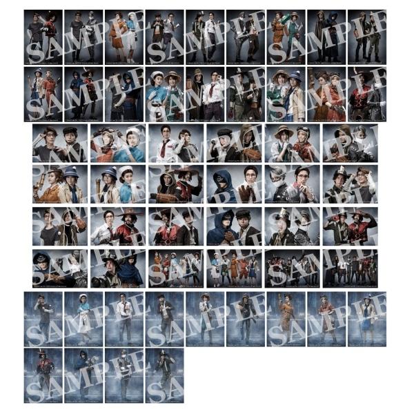 Identity V STAGE トレーディングブロマイド サバイバー Ver. (ランダム5枚セット) 全55種【受注生産】