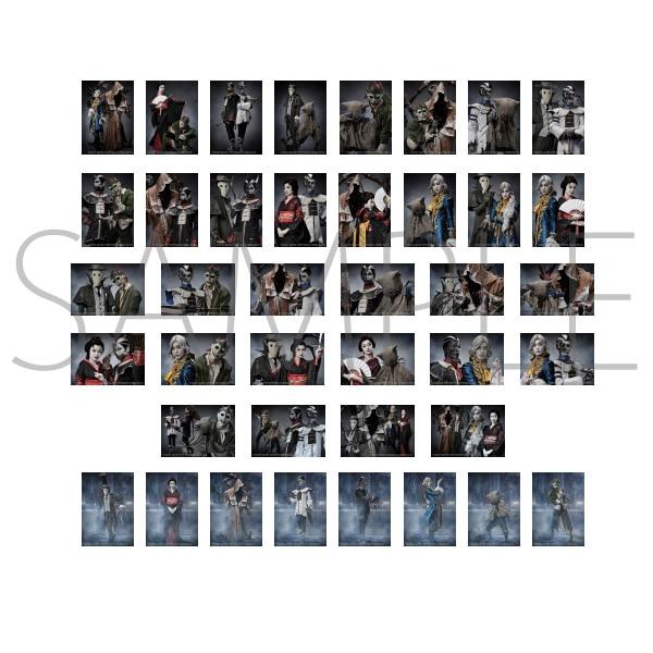 Identity V STAGE トレーディングブロマイド ハンター Ver. (ランダム5枚セット) 全40種【受注生産】