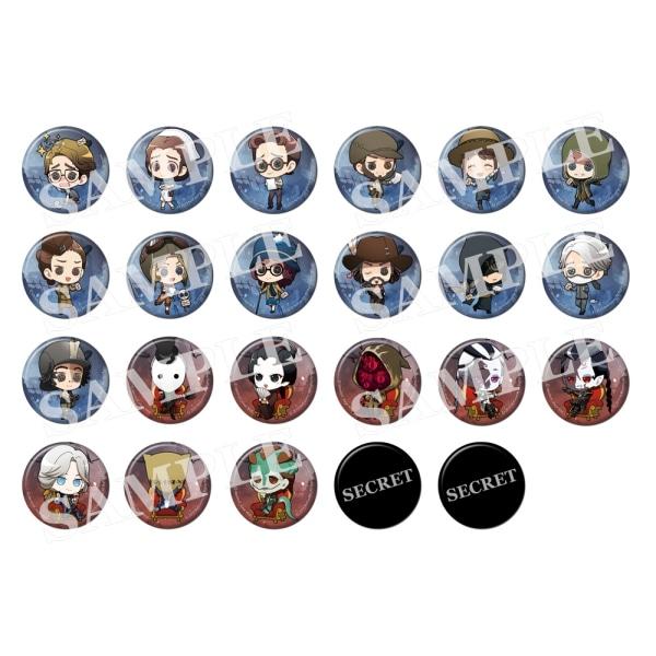 Identity V STAGE トレーディング缶バッジ ミニキャラVer.(3個セット) 全23種【受注生産】