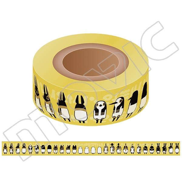 とーとつにエジプト神 マスキングテープ ぐるぐる01