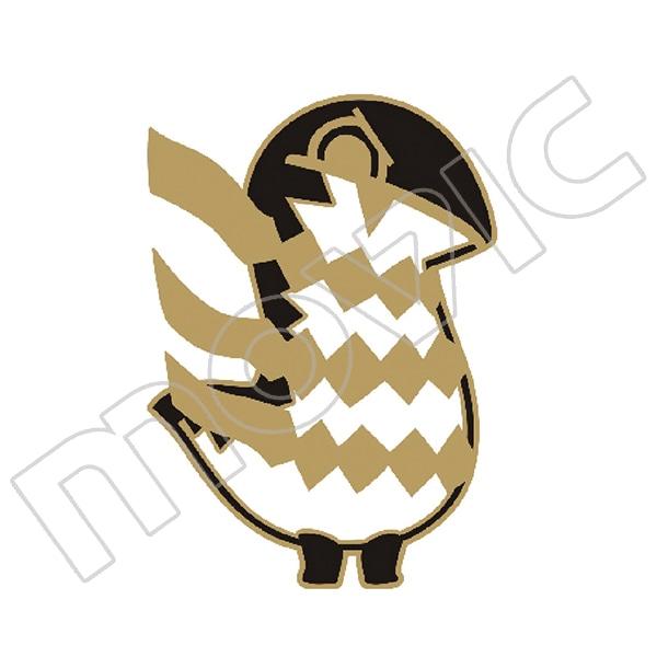 とーとつにエジプト神 いろんなポーズのピンズ アペプ