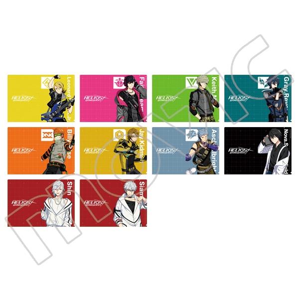 エリオスライジングヒーローズ クリアファイルコレクション B