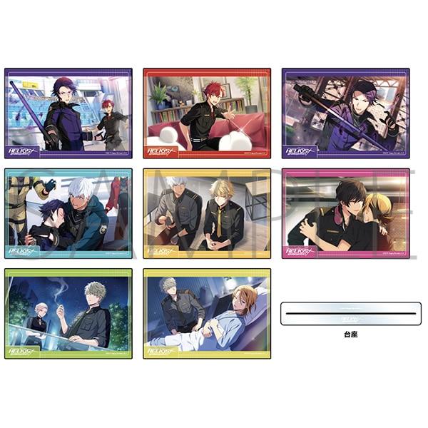 エリオスライジングヒーローズ アクリルアートパネルコレクション フレームver. vol.1 A