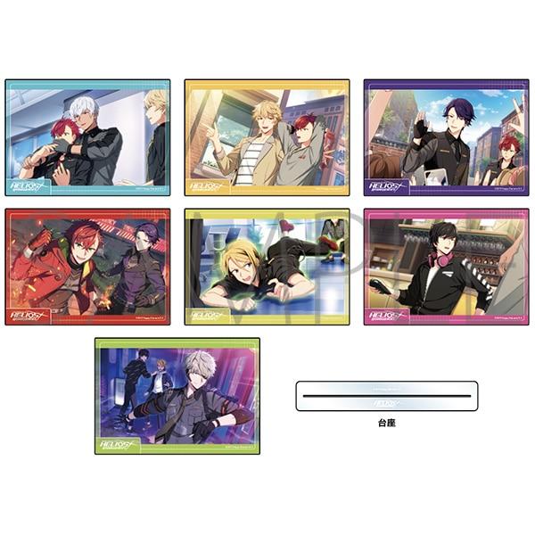 エリオスライジングヒーローズ アクリルアートパネルコレクション フレームver. vol.1 B