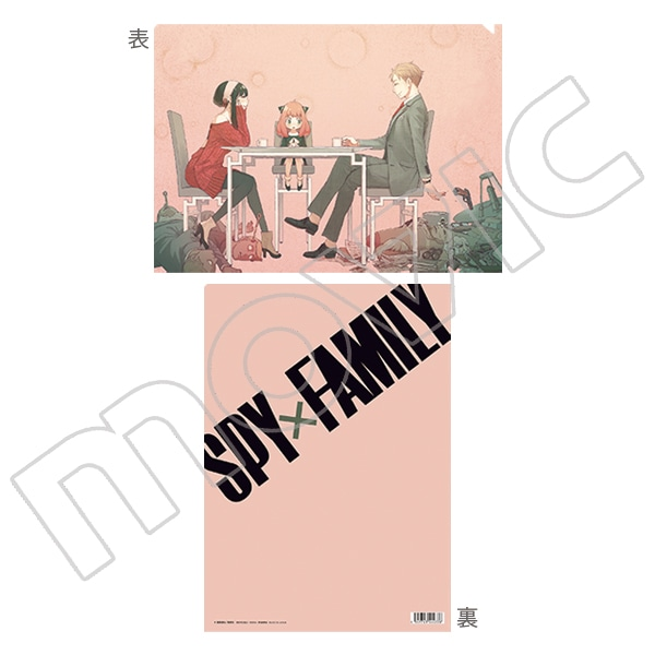SPY×FAMILY クリアファイル A