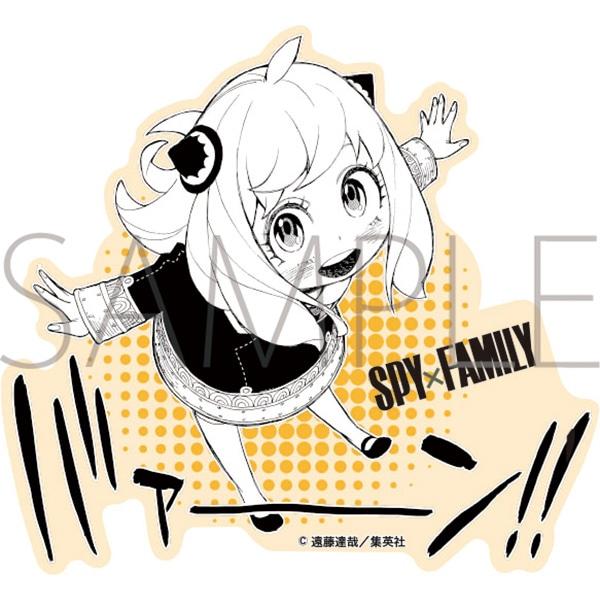 SPY×FAMILY ダイカットステッカー D