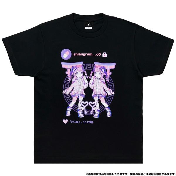 電音部 ーdenonbuー MNG × 電音部Tシャツ 犬吠埼 紫杏 XL