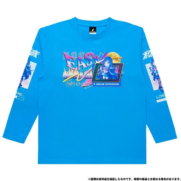 電音部 ーdenonbuー MNG × 電音部ロングTシャツ 東雲 和音 XL